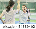 テニススクール 女性 54889402