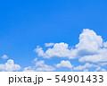 初夏の爽やかな青空 54901433