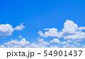 初夏の爽やかな青空 54901437