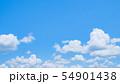 初夏の爽やかな青空 54901438