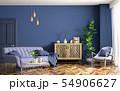 Interior of modern living room 3d rendering 54906627