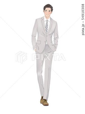 スーツ 男性 54910308