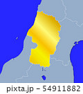 山形県地図 54911882