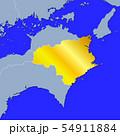徳島県地図 54911884