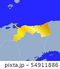 鳥取県地図 54911886