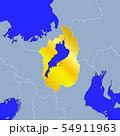 滋賀県地図 54911963