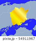 岡山県地図 54911967