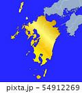 九州地図 54912269