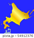 北海道地図 54912376