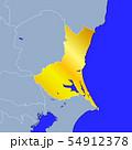 茨城県地図 54912378