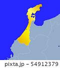 石川県地図 54912379