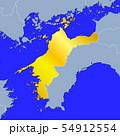 愛媛県地図 54912554