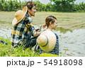 夫婦 アジア人 男性の写真 54918098