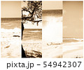 Summer vacations banners. Beach in Bali, Indonesia 54942307