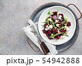 beetroot salad with blue cheese 54942888