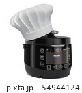Automatic Multicooker with Chefs Hat, cooking 54944124