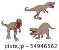恐竜のクレヨン画 54946562