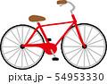 自転車 イラスト 54953330