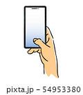 スマートフォンを持つ手2 54953380