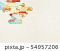 背景素材-和風-和モダン-金-紅葉-秋 54957206