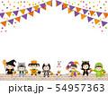 ハロウィン仮装パレード01 54957363