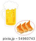 餃子3個ビール生中1杯 54960743