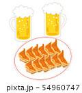 餃子12個ビール生中2杯 54960747