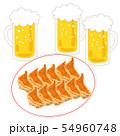 餃子12個ビール生中3杯 54960748