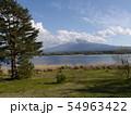 河口湖湖畔 54963422