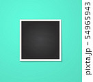 square frame isolated on blue 54965943