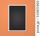 rectangle frame isolated on red 54965960