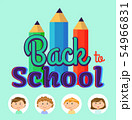 Back to School, Children Students in Frames Poster 54966831