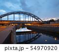 """The """"American"""" railway bridges. St. Petersburg, Russia 54970920"""