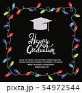 Graduation party invitation card 54972544
