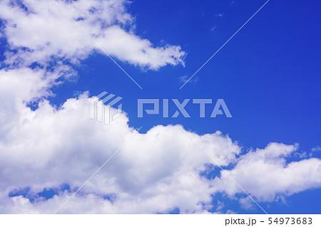 空 青空 雲 54973683