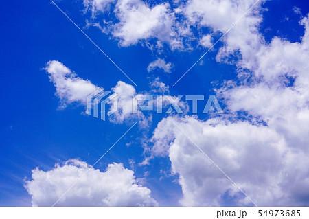 空 青空 雲 54973685
