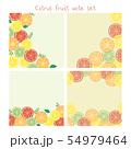 柑橘系フルーツのメモセット 54979464