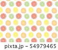 柑橘系フルーツの背景素材 54979465