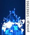 ビジネスイメージ 世界地図 日本地図 日本経済 成長 貿易 世界販売 54983966