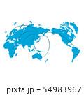 ビジネスイメージ 世界地図 日本地図 日本経済 成長 貿易 世界販売 54983967