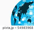 ビジネスイメージ 世界地図 日本地図 日本経済 成長 貿易 世界販売 54983968