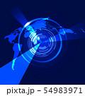 ビジネスイメージ 世界地図 日本地図 日本経済 成長 貿易 世界販売 54983971