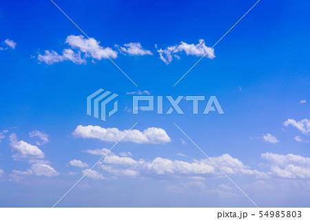 空 青空 雲 54985803