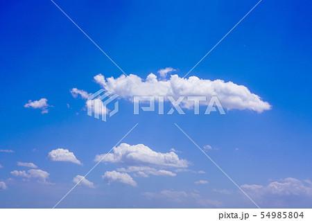 空 青空 雲 54985804