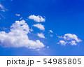 空 青空 雲 54985805