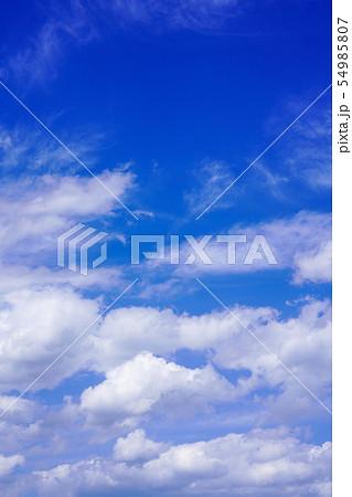 空 青空 雲 54985807
