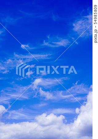 空 青空 雲 54985809