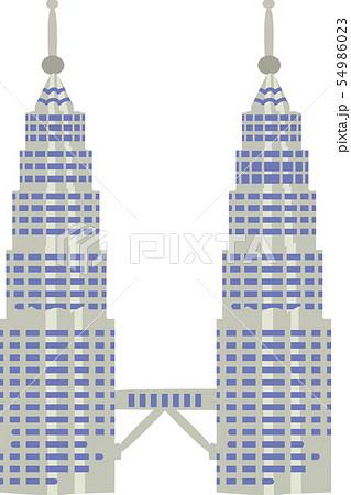 ペトロナスツインタワー 54986023