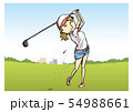 ゴルフ 女子 54988661