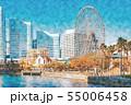 【神奈川県】みなとみらい 55006458